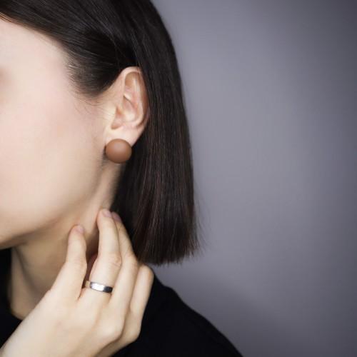 004 | Brown Earrings