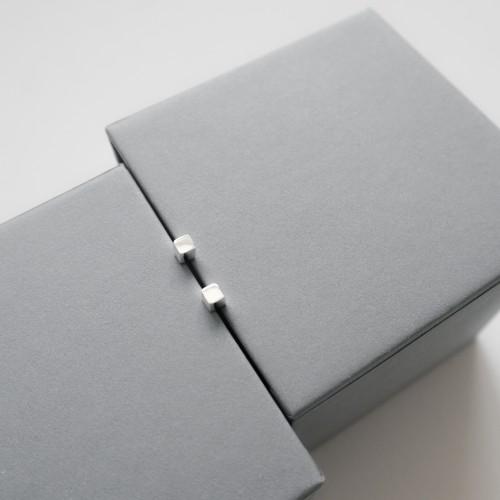 024 | Silver Cube Earrings