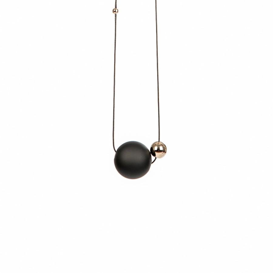 036 | Minimal Black Necklace